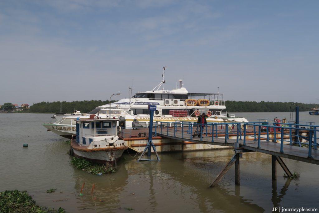 Speedboat nach Cat Ba