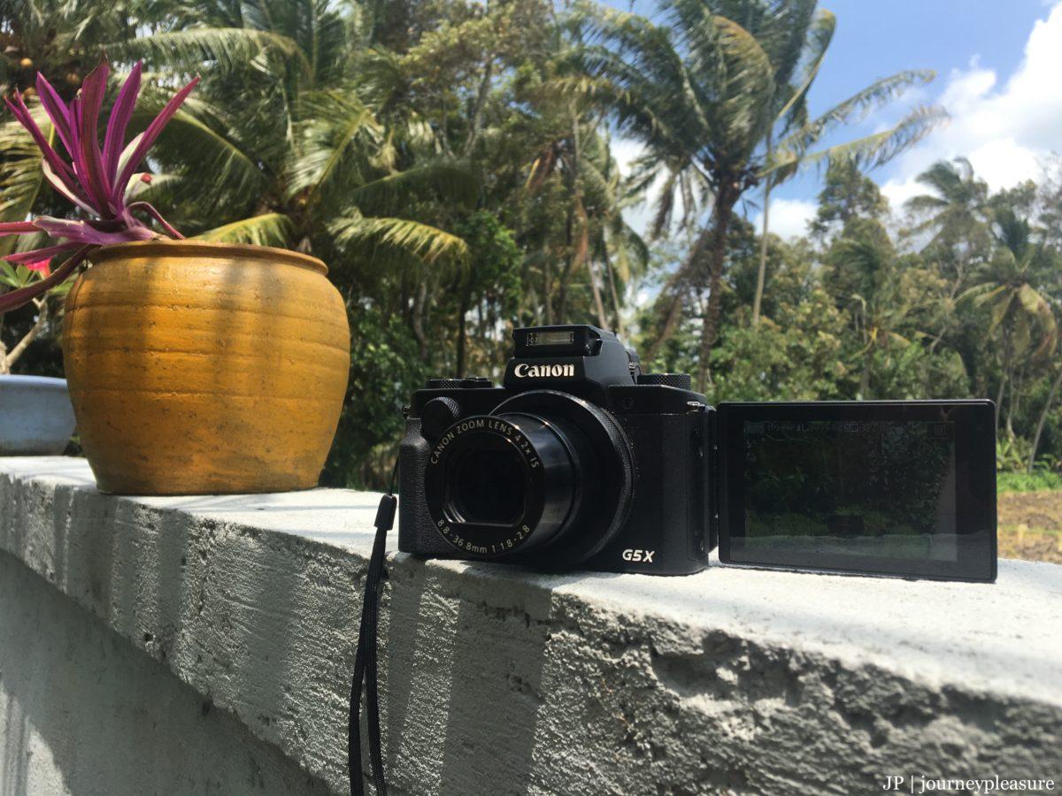 Packliste Canon PowerShot G5X Digitalkamera