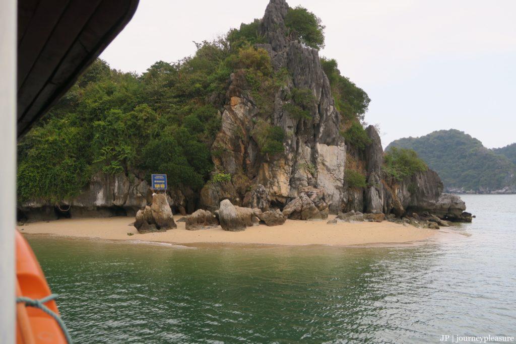 Halong Bucht schwimmen