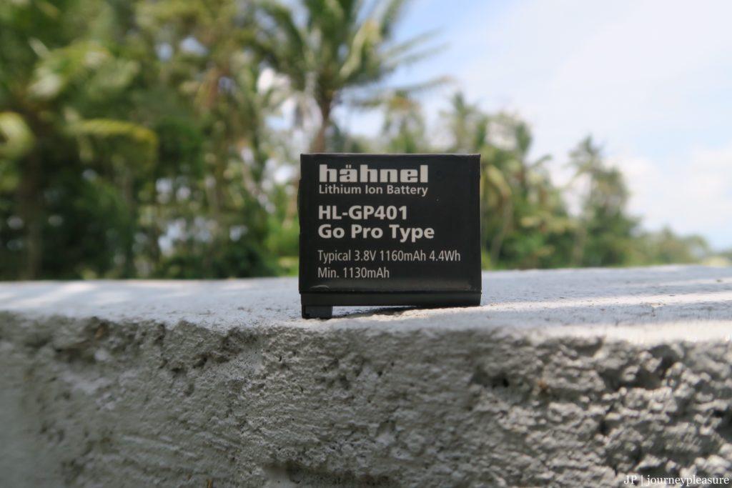 Packliste Hähnel Ersatzakku für GoPro HERO4 Black