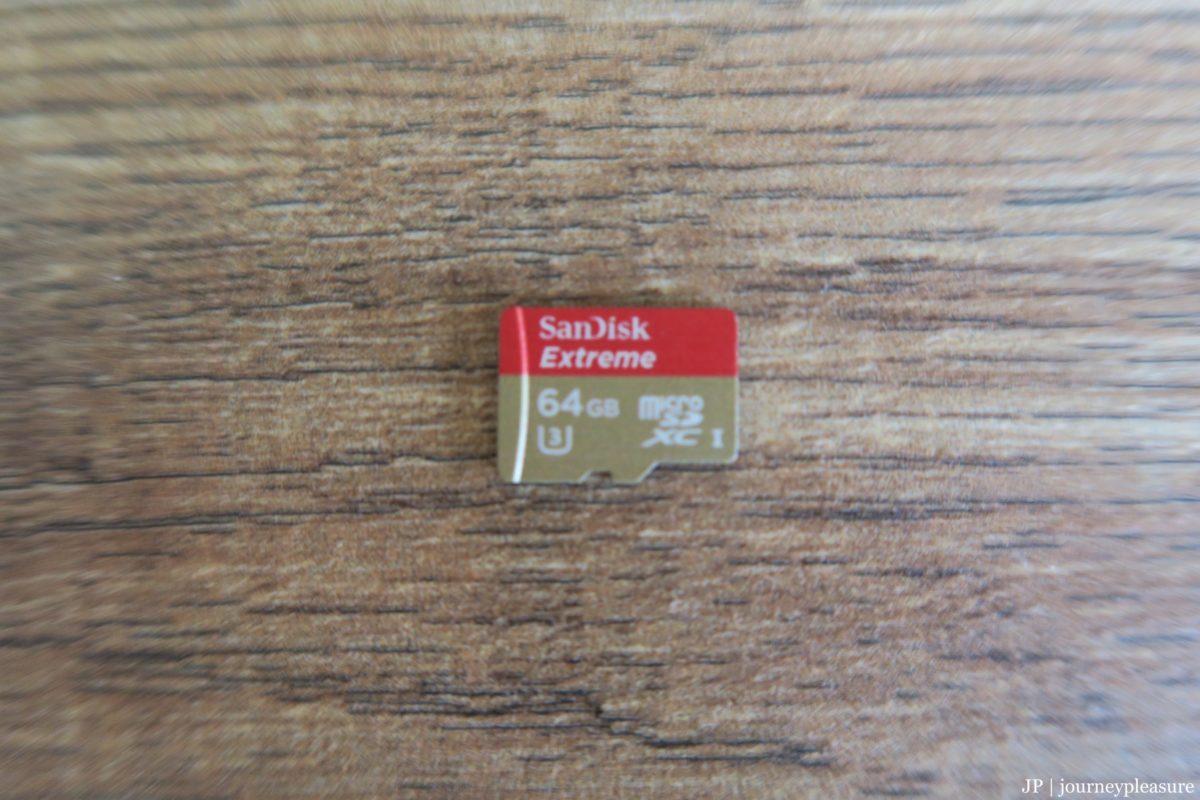 Packliste SanDisk Extreme 64 GB microSDXC Speicherkarte
