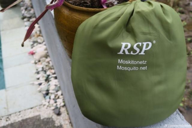 Packliste RSP-Moskitonetz