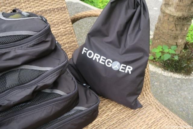 Packliste FOREGOER 6-teiliges Set, Packtaschen
