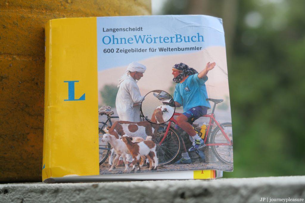Packliste Ohne-Wörter-Buch: 600 Zeigebilder für Weltenbummler