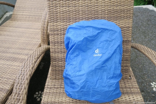 Packliste Deuter Rucksack-Regenhülle