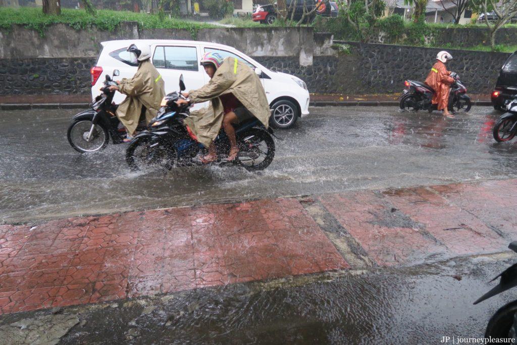Regenzeit auf Bali