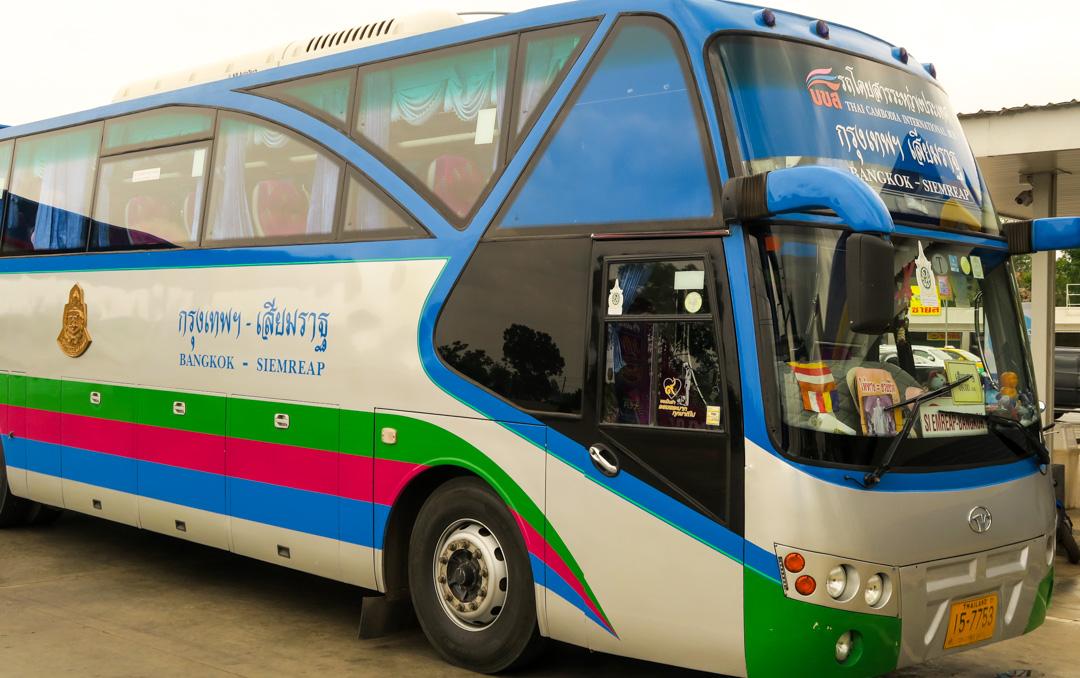 Bus Bangkok - Siem Reap